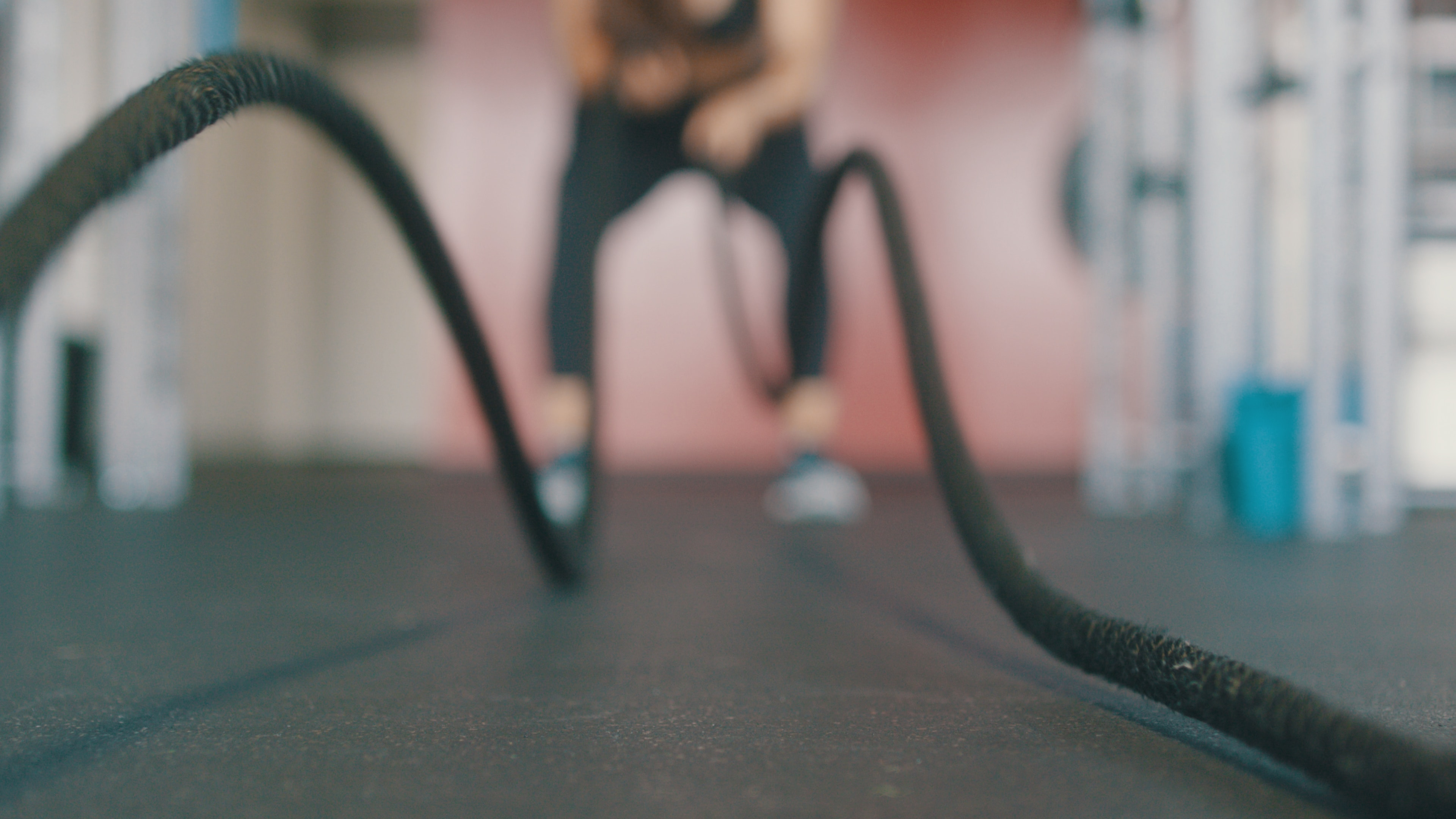 træning med reb
