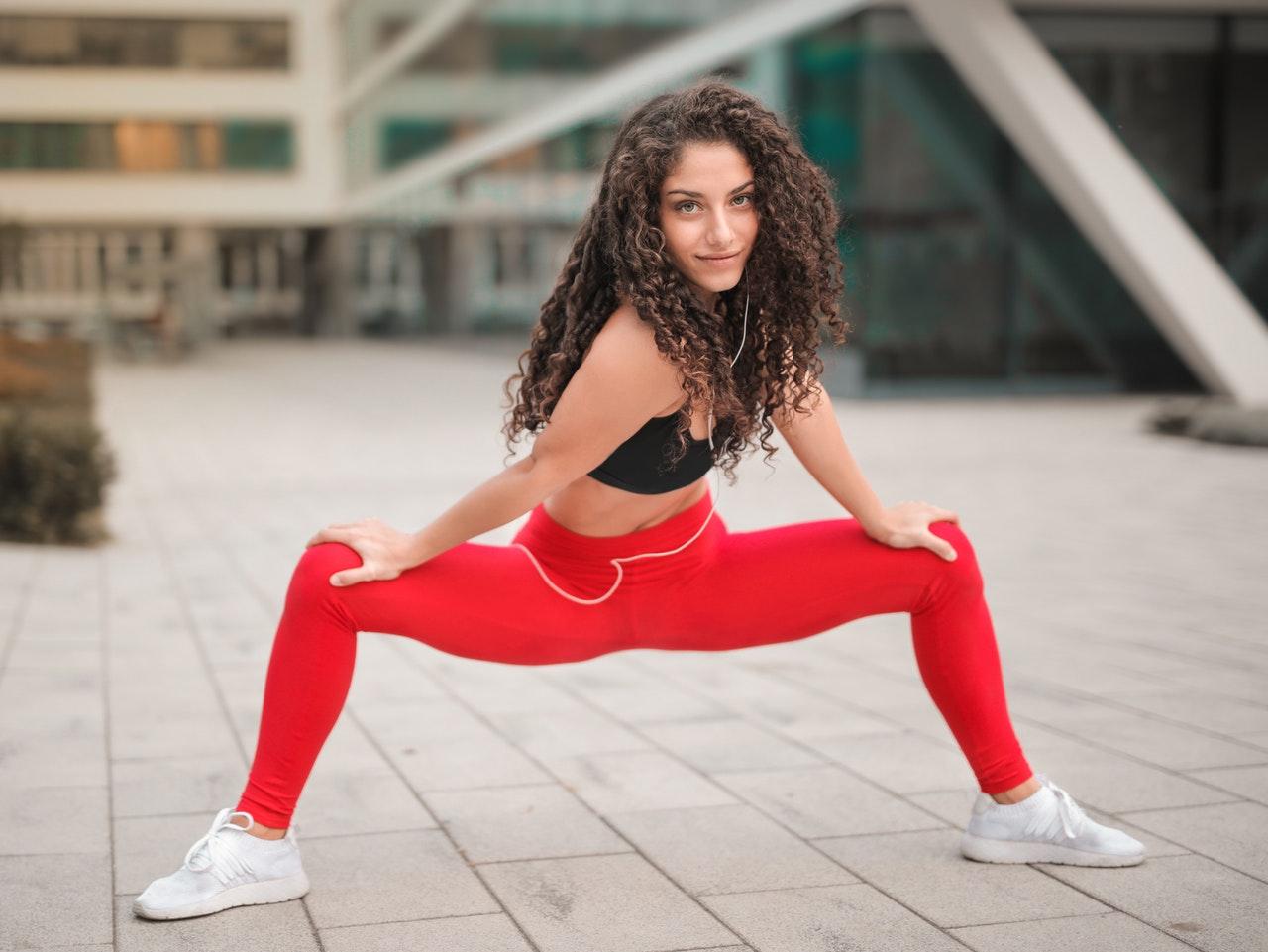 kvinde i god form